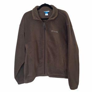 Columbia Men's Full Zip Fleece Jacket XL